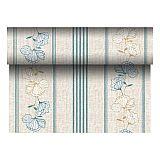 Tischläufer, stoffähnlich, PV-Tissue Mix ROYAL Collection 24 m x 40 cm türkis Tessa, Papstar (84992)