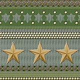 Servietten, 3-lagig 1/4-Falz 33 cm x 33 cm Trendy Stars, Papstar (85046), 300 Stück