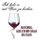 Servietten, 3-lagig Design Edition 1/4-Falz 33 cm x 33 cm Kochen mit Wein, Papstar (86013), 180 Stück