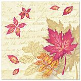 Servietten ROYAL Collection 1/4-Falz 40 cm x 40 cm Autumn Colours, Papstar (86659)