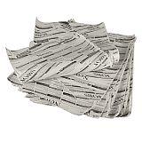 Einschlagpapiere, Pergament-Ersatz 35 cm x 25 cm Newsprint fettdicht (1 kg), Papstar (86725), 6 Stück