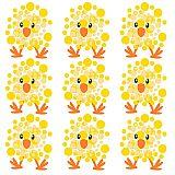 Servietten, 3-lagig 1/4-Falz 33 cm x 33 cm Crazy Chickens, Papstar (86796), 300 Stück