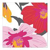 Servietten, 3-lagig 1/4-Falz 33 cm x 33 cm Blomster, Papstar (87341), 200 Stück