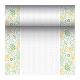 Tischläufer, stoffähnlich, PV-Tissue Mix ROYAL Collection 24 m x 40 cm gelb Agnes, Papstar (87742)