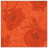 Servietten ROYAL Collection 1/4-Falz 40 cm x 40 cm nektarine Thalia, Papstar (87750)