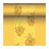 Tischläufer, stoffähnlich, PV-Tissue Mix ROYAL Collection 24 m x 40 cm gelb Thalia, Papstar (87756)