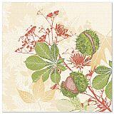 Servietten ROYAL Collection 1/4-Falz 40 cm x 40 cm Autumn Leaves, Papstar (88321)