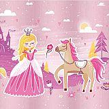 Servietten, 3-lagig 1/4-Falz 33 cm x 33 cm Fairytale Princess, Papstar (88612)