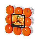 Flavour by GALA Duftlichte Ø 37,5 mm, 16,6 mm orange - Orange, Gala (96913)