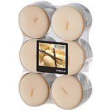 Flavour by GALA Maxi Duftlichte Ø 58 mm, 24 mm creme - Vanilla, Gala (96922), 144 Stück