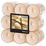 Flavour by GALA Duftlichte Ø 38 mm, 24 mm creme - Vanilla in Polycarbonathülle, Gala (96982), 108 Stück