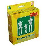 TravelJohn 2-in-1 Brechbeutel & Wegwerf-Urinale aus Papier 800 ml, TravelJohn (TJ66829B-EU), 5 Stück