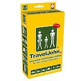 TravelJohn Wegwerf-Urinale 800 ml inkl. Reinigungstücher, TravelJohn (TJ66850), 6 Stück