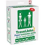 TravelJohn Wegwerf-Urinale aus Papier 800 ml, TravelJohn (TJ66859-EU), 4 Stück